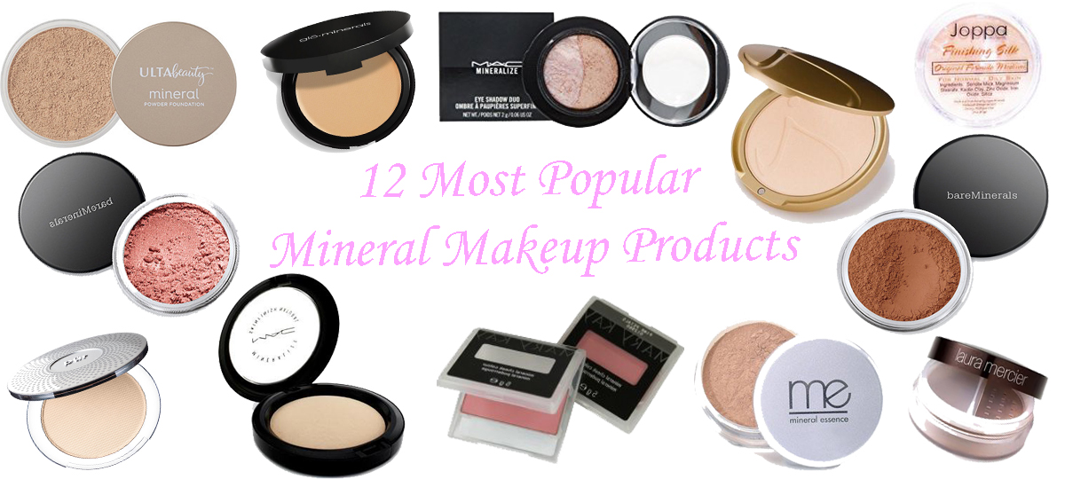 12 Most Popular Mineral Makeup Products